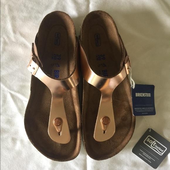 bb4e889cc6c Birkenstock Shoes - Birkenstock Gizeh Soft Footbed